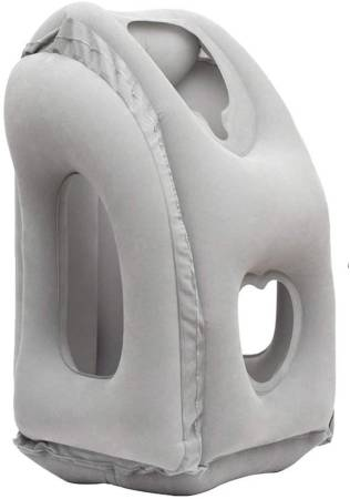 AirGoods Inflatable Travel Pillow 3rd Generation Neck and Head Support Pillow for Sleeping on The Airplane Train Car Home Office