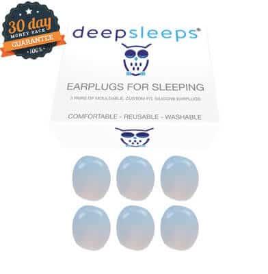 deep sleeps soft silicone earplugs