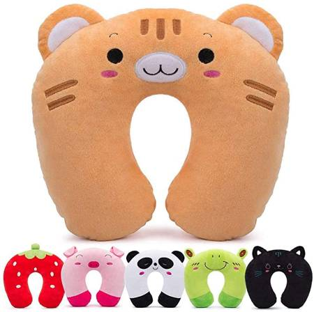 SUREA CHILDREN'S TRAVEL PILLOW PLUSH U-SHAPED NECK PILLOW