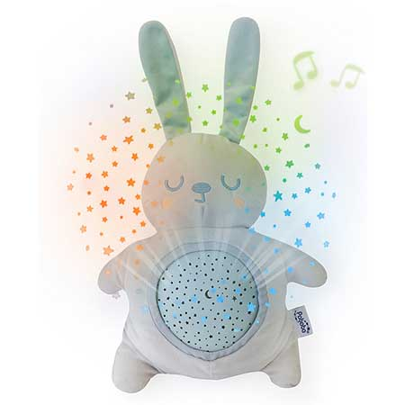 Pabobo mimi bunny night light projector for babies