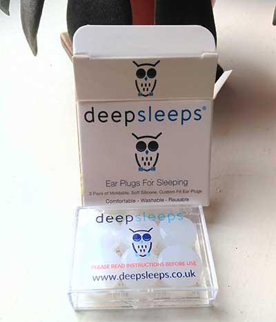 Deepsleeps earplugs for sleeping