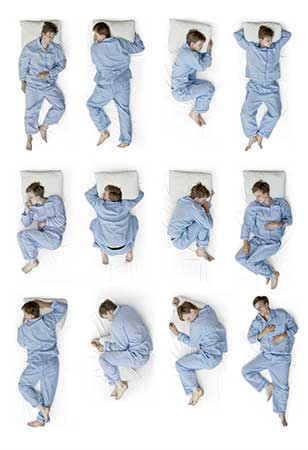Sleep Positions For Memory Foam Mattress