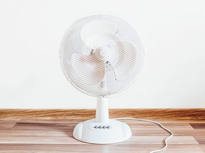 White Fan For Noise