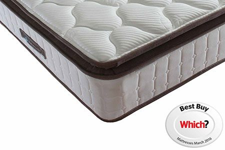 Sealy-Nostromo Pocket Sprung Mattress