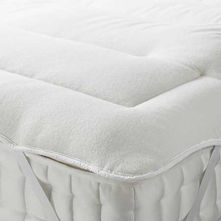 Devon Duvets British Wool Mattress Topper