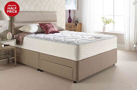 Kayflex 2000 Memory Foam Mattress On A Bed