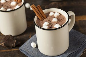Hot Chocolate to enjoy before bed