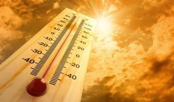Thermometer Showing a memoery foam mattress that's too hot