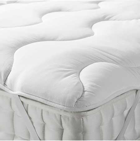 John Lewis & Partners Synthetic Soft and Light Mattress Topper
