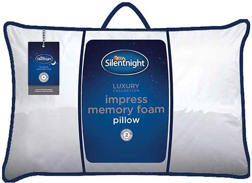 Silentnight impress memory foam pillow