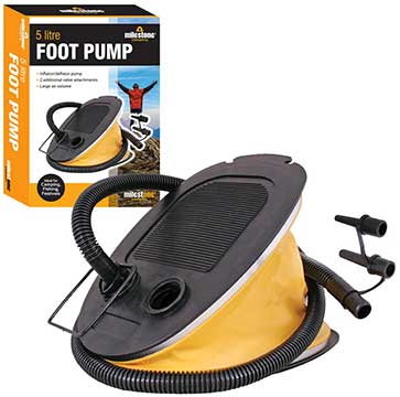 5L Foot Pump For Air Bed