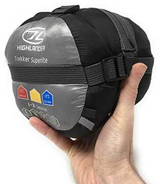 Highlander Trekker Superlite sleeping bag