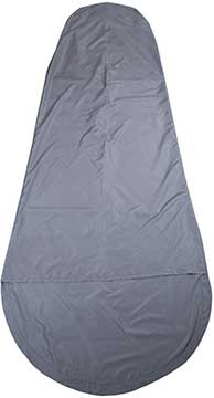 Mountain Warehouse Mummy Sleeping bag liner Grey