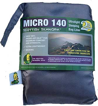 Scottish Silkworm Micro Bag Liner
