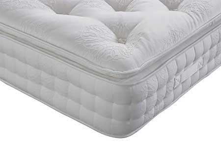 Alpinia 3000 Pillow Top Pocket Natural Mattress