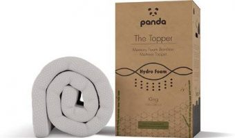 Panda Memory Foam Bamboo Mattress Topper