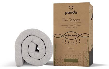 Panda Memory Foam Bamboo Mattress Topper