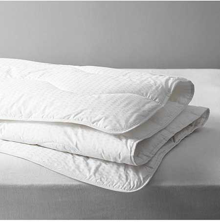 John Lewis-& Partners Synthetic Collection Breathable Microfibre Duvet, 2.5 Tog