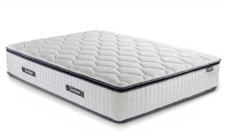 SleepSoul Bliss Pocket Memory 800 Pillow Top Mattress