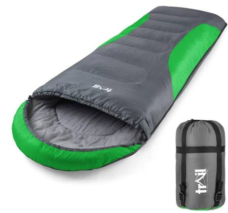 ADULT SLEEPING BAG 3 SEASON SINGLE PERSON WARM HOOD