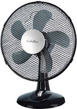 AirArtDeco Electric Desk Fan
