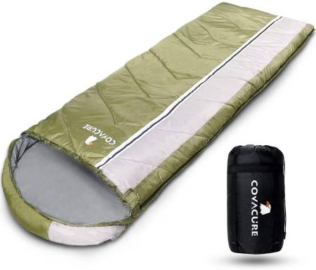 COVACURE Sleeping Bag 3 Seasons Ultra Warm Lightweight