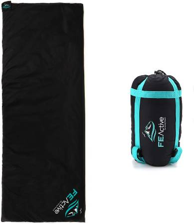 FE Active - Sleeping Bag Extremely Lightweight Water Resistant 3 Seasons Compact