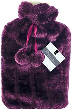 Keplin 2 Litre Faux Fur Hot Bottle