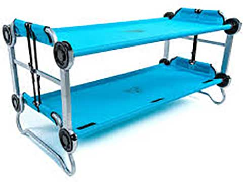 Kid O Bunk Children's Portable Mobile Camping Bed