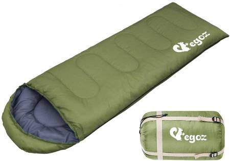 Peanut by EGOZ sleeping bag easy to carry warm