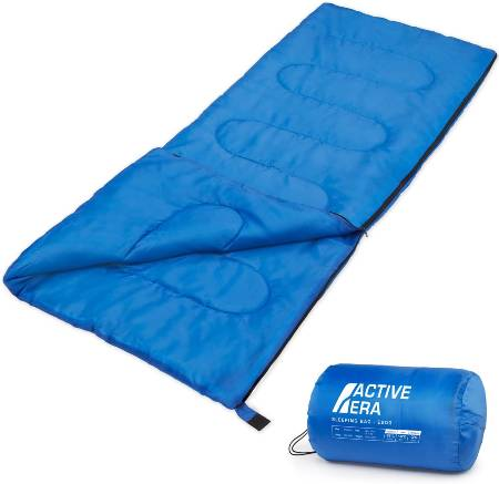 Premium 200 Warm Lightweight Envelope Sleeping Bag