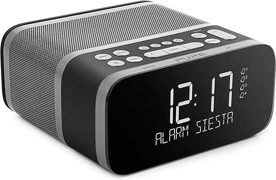 Pure-Siesta-S6 Digital Radio Alarm Clock With Bluetooth