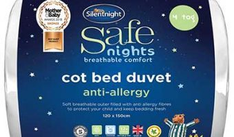 Silentnight Safe Nights Anti Allergy Cot Bed Nursery Duvet Review