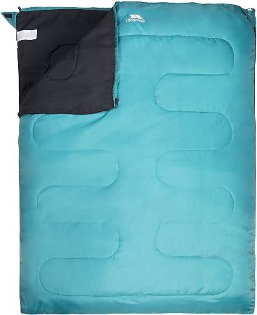 Trespass Unisex Adult CATNAP 3 Season Double Sleeping Bag