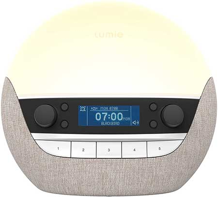 Lumie Bodyclock Luxe 700DAB Sunrise Simulation Alarm Clock