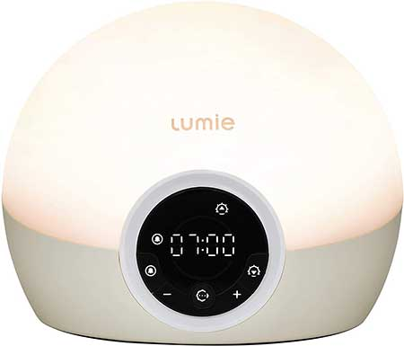 Lumie Bodyclock Spark 100  Wake up Light Alarm Clock with Sleep Sunset