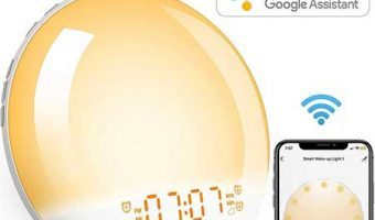Smart Wi Fi Wake Up Light Alarm Clock