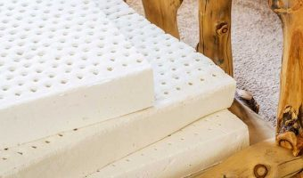 Latex mattress to be compares with a spring mattress