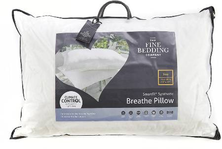 The Fine Bedding Company Synthetic Pillow Breathable Temperature Regulating