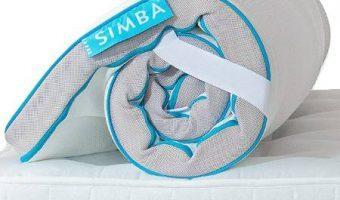 simba hybrid topper
